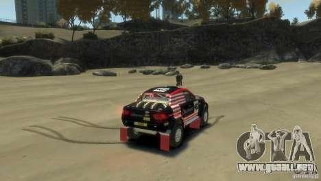 Mitsubishi L200 Rally para GTA 4 Vista posterior izquierda