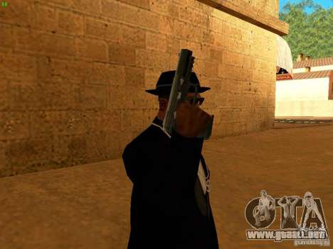 Five-Seven MW3 para GTA San Andreas sucesivamente de pantalla