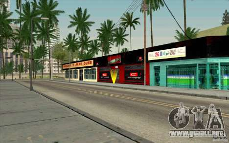 Cropp Town SHOP para GTA San Andreas tercera pantalla