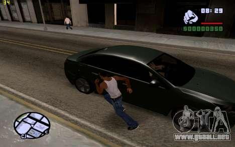 ENBSeries by VadimSpiridonov para GTA San Andreas segunda pantalla