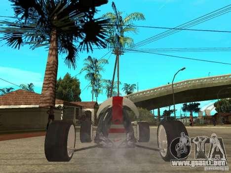 Nike One para GTA San Andreas vista posterior izquierda