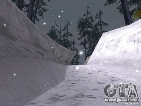 Nieve para GTA San Andreas undécima de pantalla