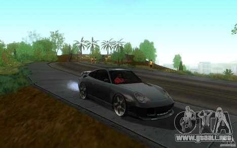 Ruf R-Turbo para GTA San Andreas vista hacia atrás