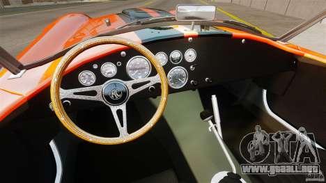 AC Cobra 427 para GTA 4 visión correcta