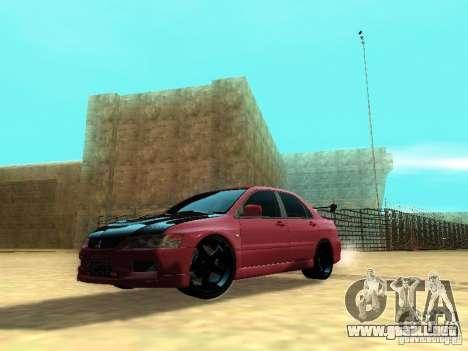 Mitsubishi Lancer IX MR para GTA San Andreas