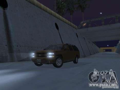 Chevrolet Suburban 2003 para GTA San Andreas interior