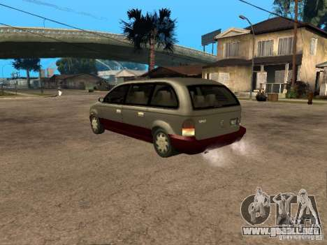 HD Blista para GTA San Andreas left