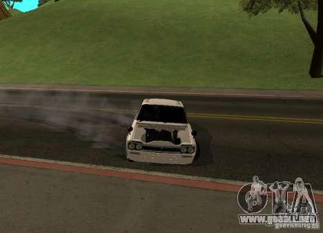 Nissan Skyline 2000 GT-R para vista lateral GTA San Andreas