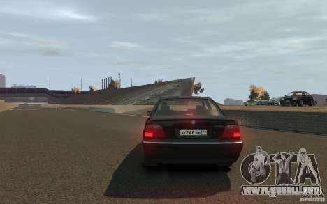 BMW 750i (e38) v2.0 para GTA 4 Vista posterior izquierda