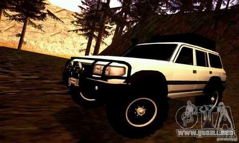 Toyota Autana 4x4 para GTA San Andreas