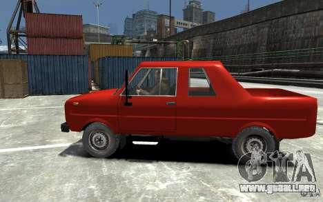 FSR Tarpan 237D para GTA 4 left