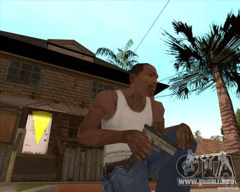 CoD:MW2 weapon pack para GTA San Andreas novena de pantalla
