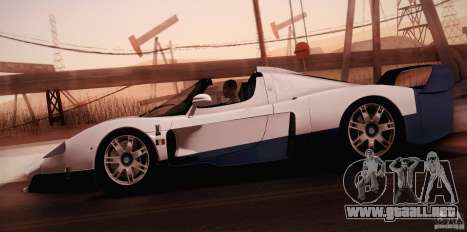 Maserati MC12 V1.0 para el motor de GTA San Andreas