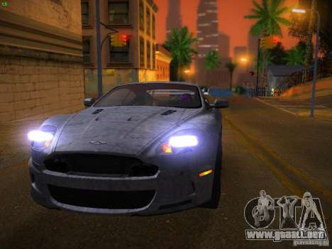 Aston Martin DBS para la vista superior GTA San Andreas