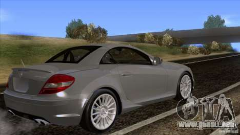 Mercedes-Benz SLK 55 AMG para GTA San Andreas left