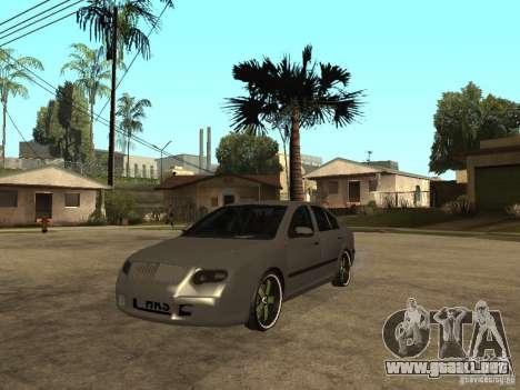 Skoda Octavia Custom Tuning para GTA San Andreas