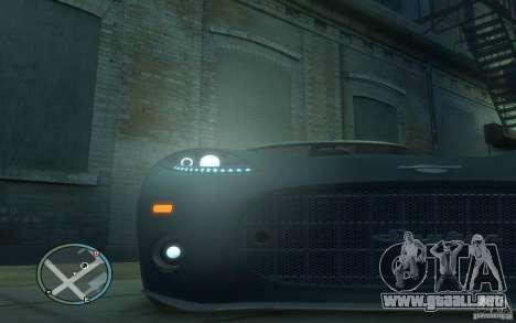 Spyker C8 Aileron para GTA 4 vista lateral
