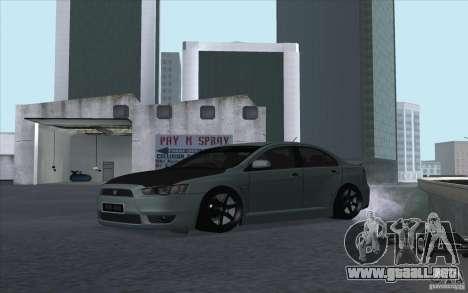 Proton Inspira Stance para GTA San Andreas left