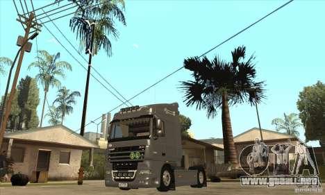 DAF XF para GTA San Andreas left