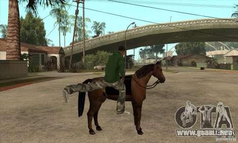 Caballo para GTA San Andreas tercera pantalla