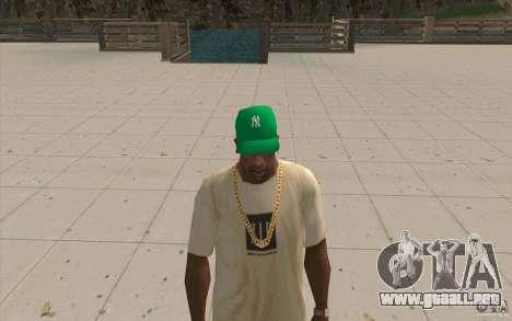 Newyorkyankiys tapa verde para GTA San Andreas segunda pantalla