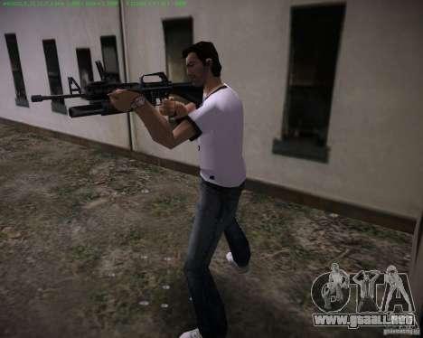 M-16 de Scarface para GTA Vice City segunda pantalla