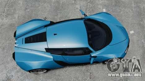 Marussia B2 para GTA 4 visión correcta