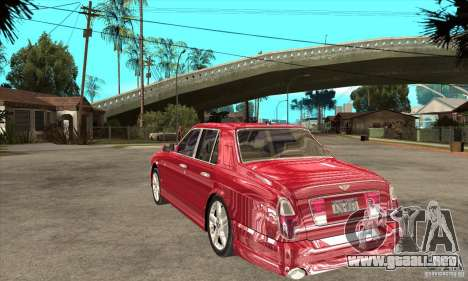 Bentley Arnage T para la visión correcta GTA San Andreas