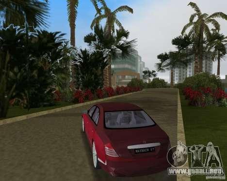 Maybach 57 para GTA Vice City visión correcta