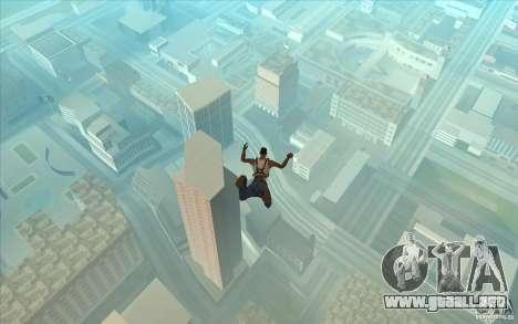 Paracaídas para GTA San Andreas sucesivamente de pantalla