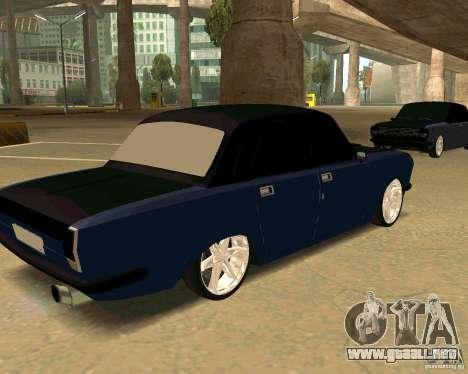 GAZ 24 para GTA San Andreas left