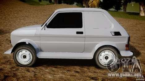 Fiat 126p Bis Rally para GTA 4 left