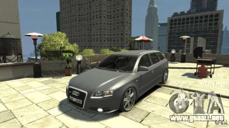 Audi A4 Avant beta para GTA 4 left