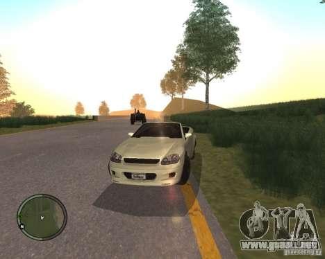 Feltzer de GTA 4 para GTA San Andreas vista posterior izquierda