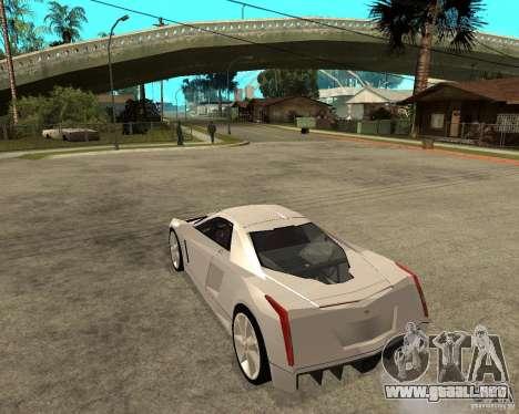Cadillac Cien para GTA San Andreas left
