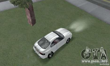 Toyota Celica GT4 2000 para GTA San Andreas vista posterior izquierda