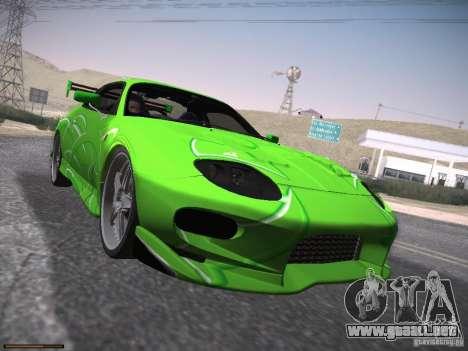 Mitsubishi FTO GP Veilside para el motor de GTA San Andreas