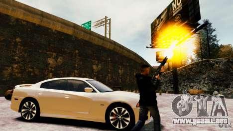 Marshall de Crysis 2 para GTA 4 sexto de pantalla