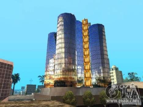 Nueva textura de rascacielos para GTA San Andreas sucesivamente de pantalla
