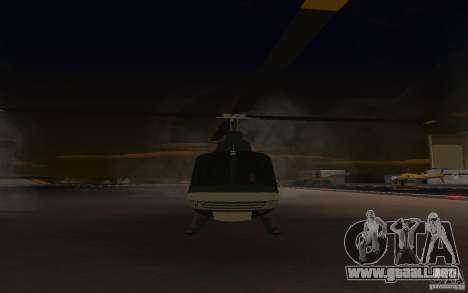 GTA IV Maverick para GTA San Andreas left