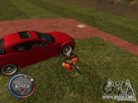 GTA 5 HUD para GTA San Andreas octavo de pantalla