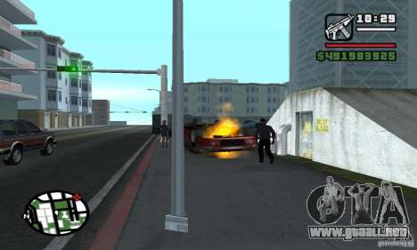 Arreglar el Auto para GTA San Andreas segunda pantalla