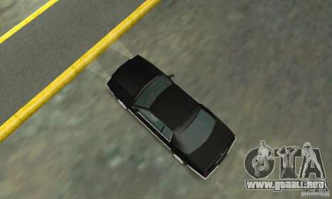 Cadillac Eldorado 1996 para GTA San Andreas vista posterior izquierda