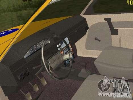 GAI AZLK 2141 para GTA San Andreas vista hacia atrás