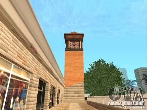 Nuevo centro comercial de texturas para GTA San Andreas sucesivamente de pantalla