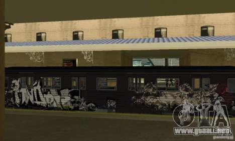 GTA IV Enterable Train para visión interna GTA San Andreas