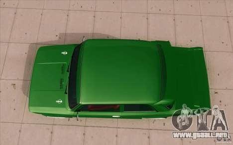 Deporte Lada VAZ-2101 para la visión correcta GTA San Andreas