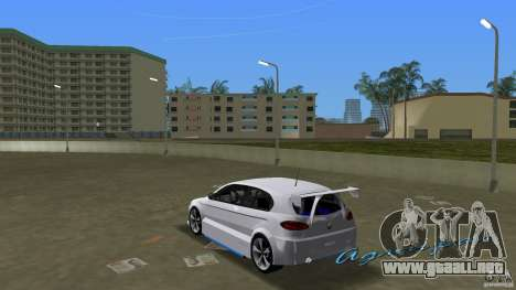 Alfa Romeo 147 para GTA Vice City vista lateral izquierdo