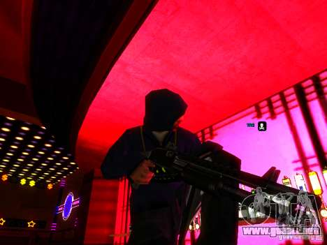 New Weapons para GTA San Andreas sucesivamente de pantalla