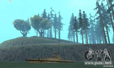 GTA III Ghost para GTA San Andreas vista posterior izquierda